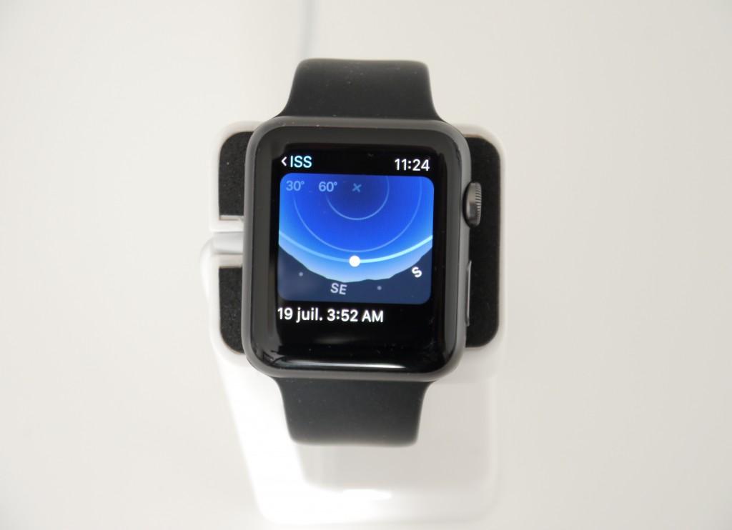 Bon point pour la qualité d'affichage de la montre.