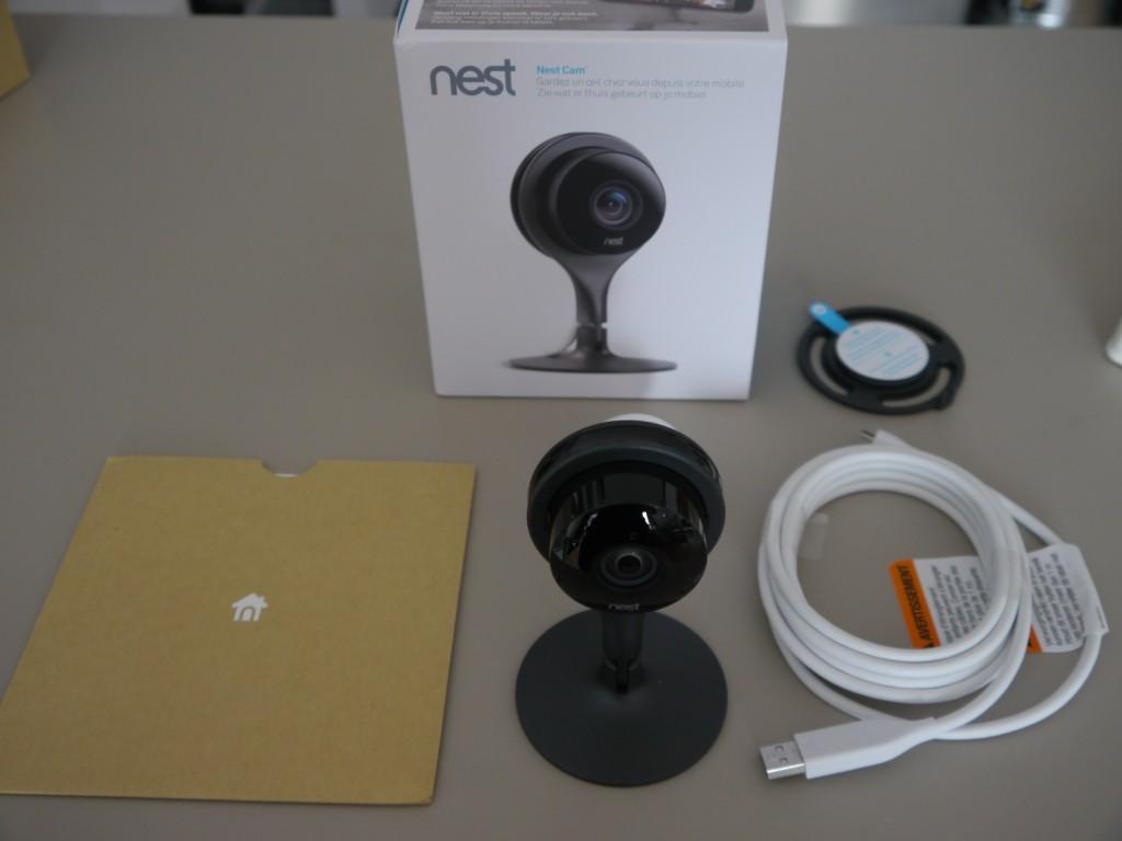 Nest Cam coffret