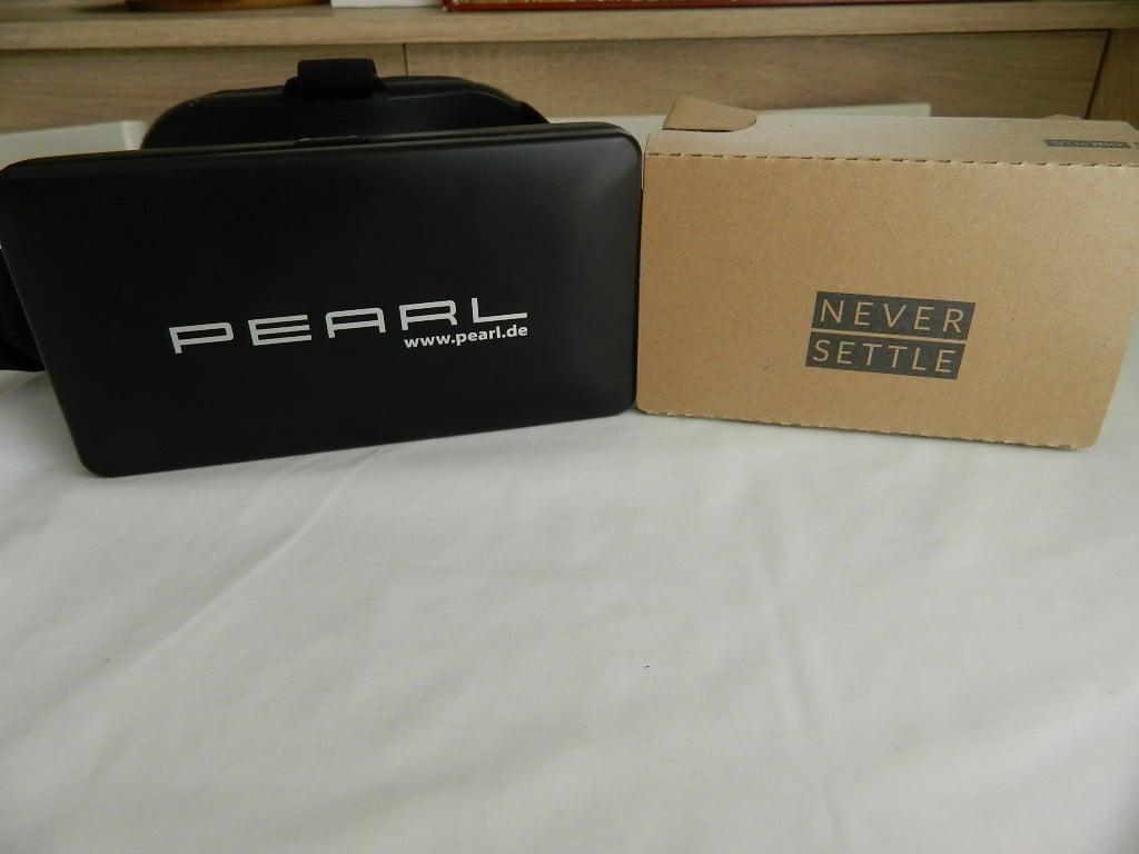 Casque Pearl ZX1523 et sa boite