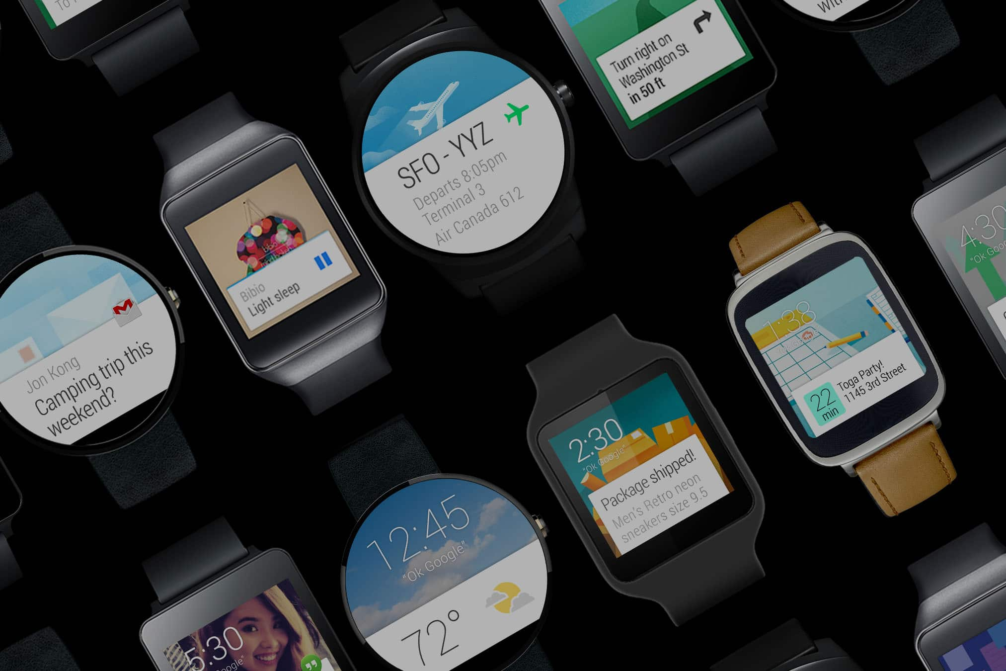 Top application pour Android Wear