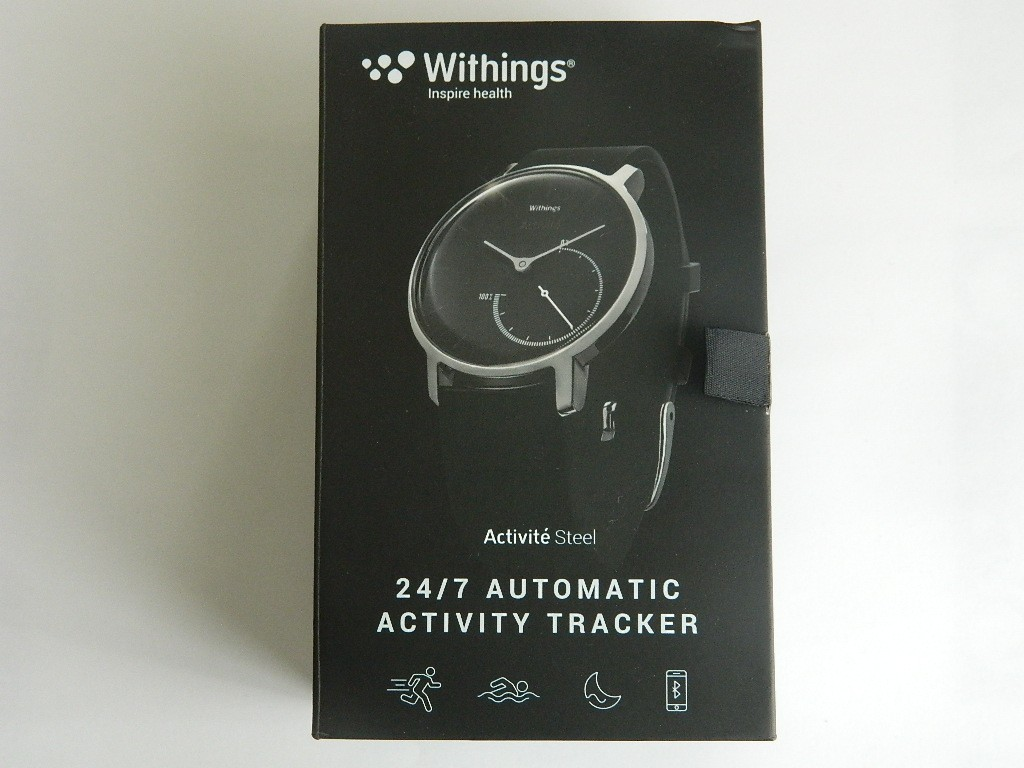 boite Withings Activité Steel