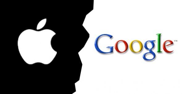 Logo Google et Apple