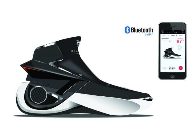 Digitsole Smartshoe : Une chaussure connectée française au CES 2016