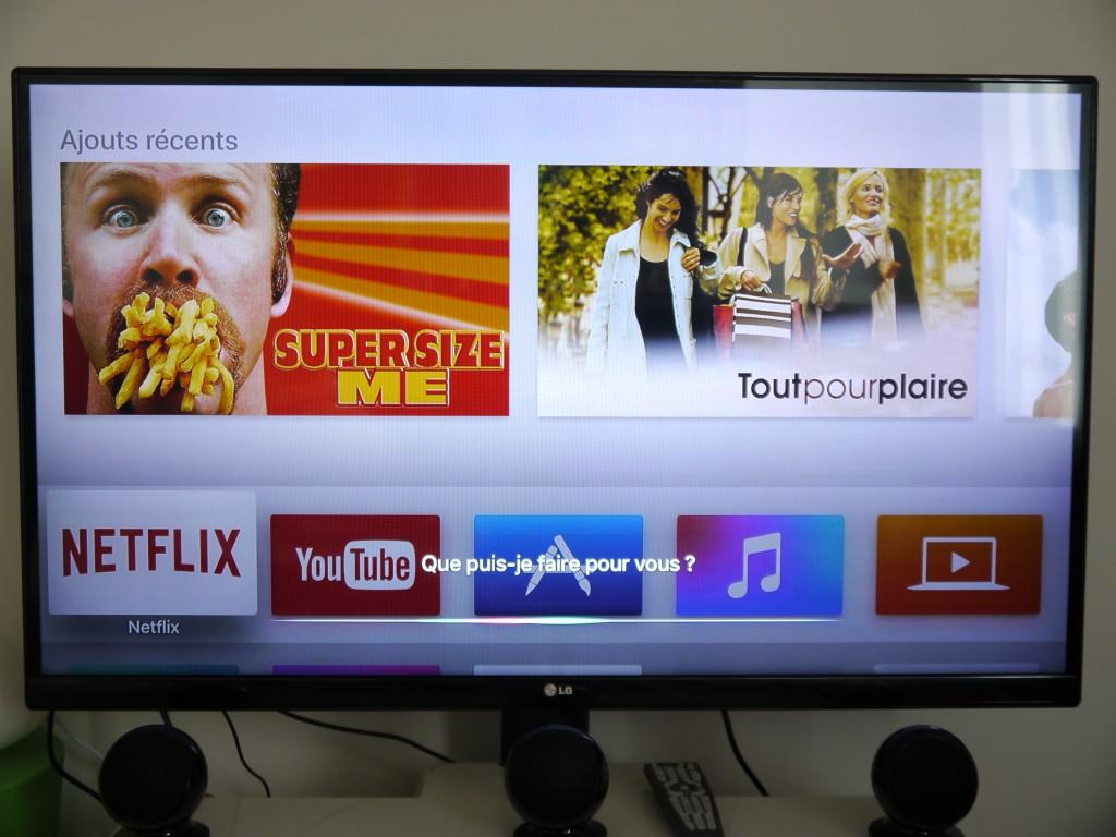 Siri permet de communiquer facilement avec le téléviseur
