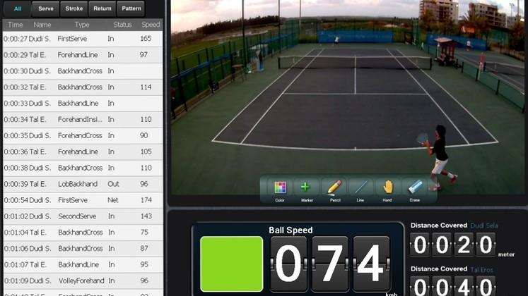playsight filme et analyse les matchs de tennis