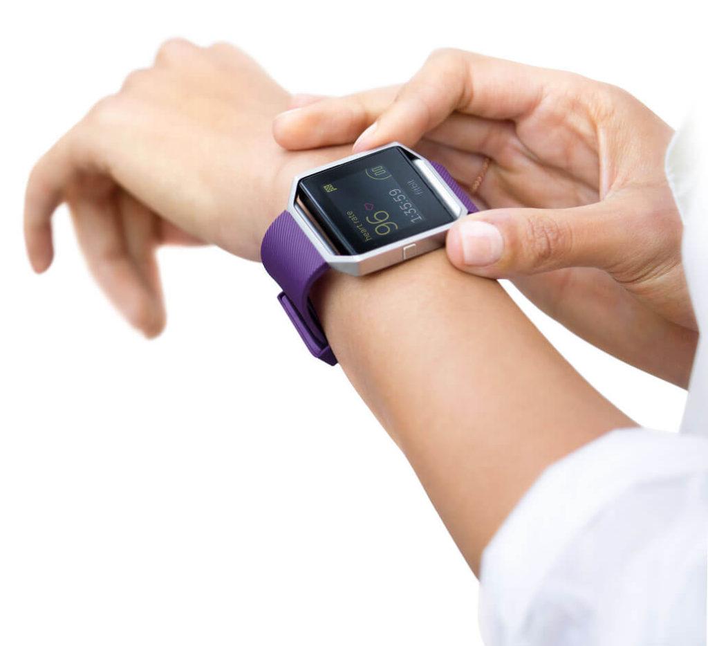 Réglages de la Fitbit Blaze