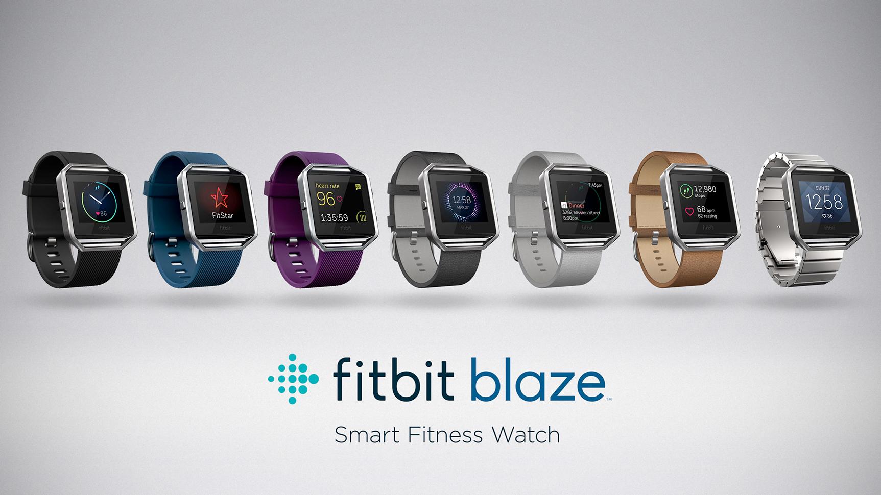 Fitbit Blaze disponible