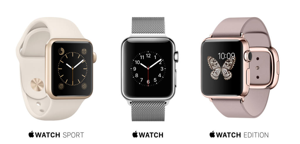 gamme Apple Watch