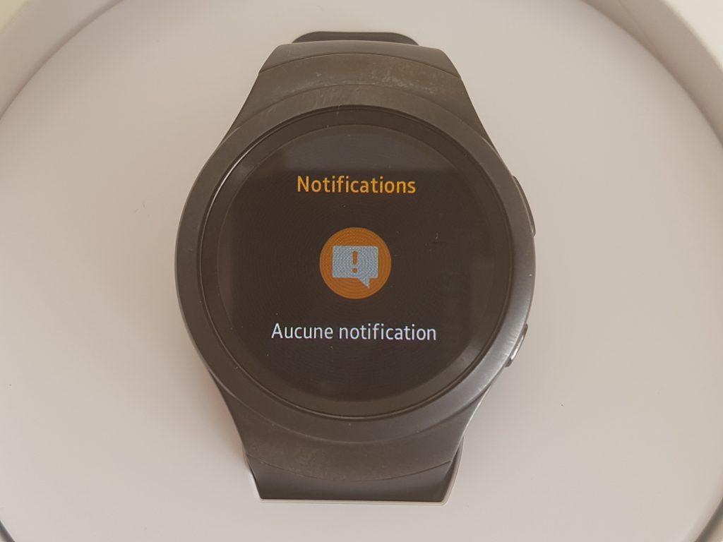 Notifications sous tizen OS