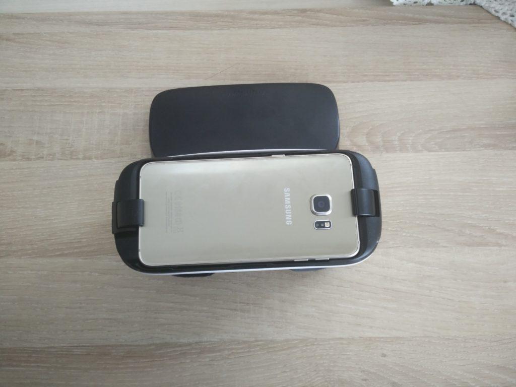 Le Gear VR et le S6 Edge +