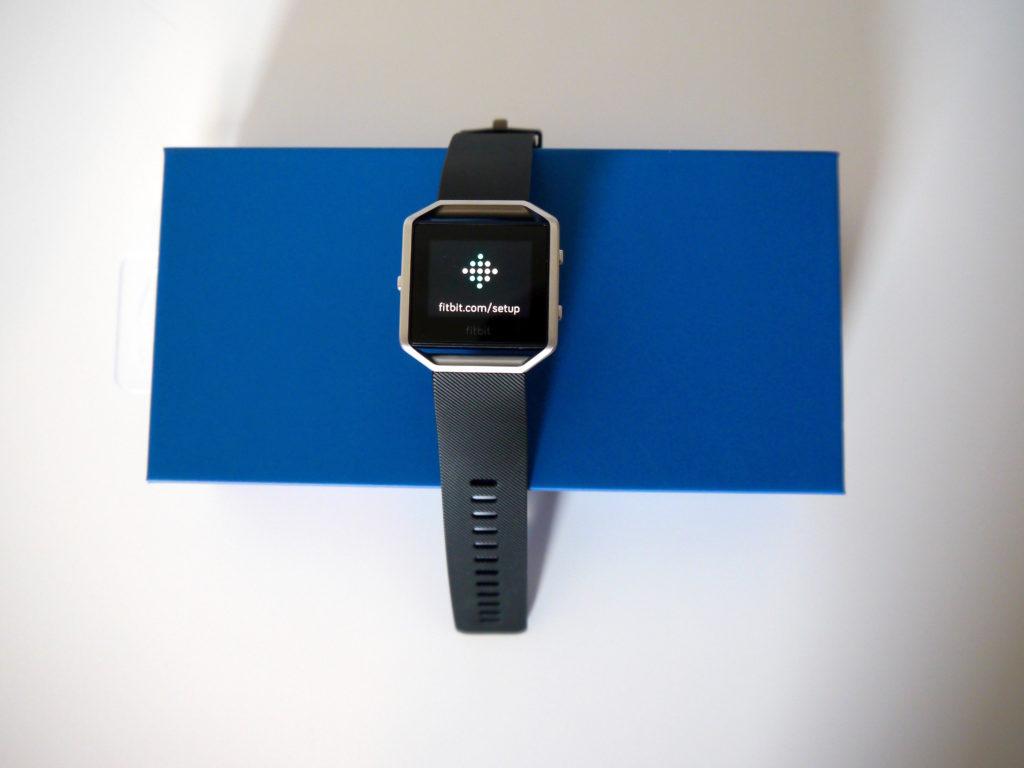 Synchronisation du Fitbit Blaze
