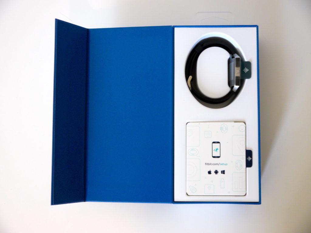 Packaging du Fitbit Blaze