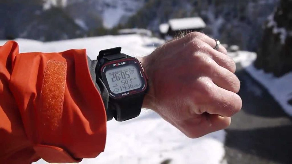 montre GPS polar-rc3