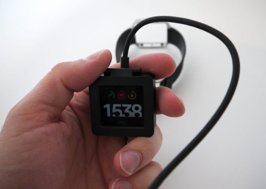 Rechargement du Fitbit Blaze