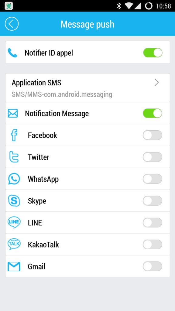 notification i5 Plus