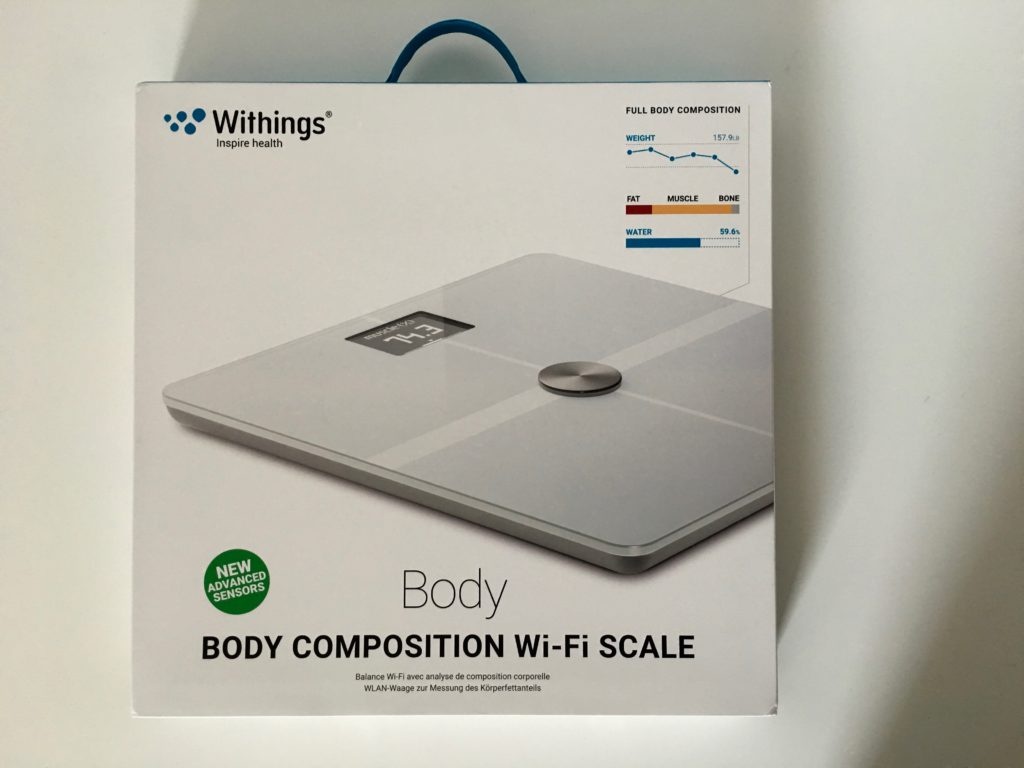 Emballage de la Withings Body