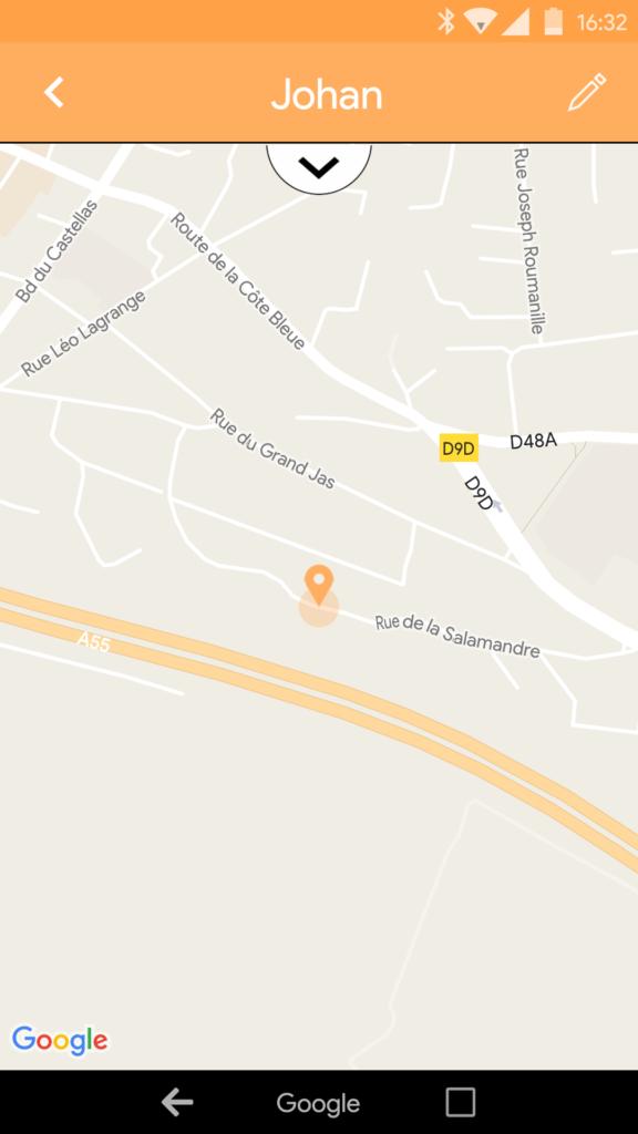 Localisation du Wistiki Voilà sur la carte