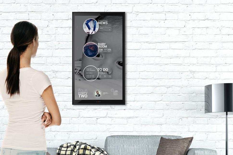Lucy l'écran connecté pour la Smart Home