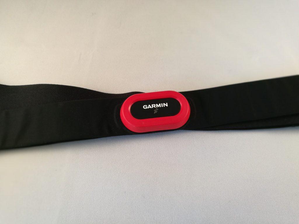 La ceinture pectorale HRM-Run permet de récolter encore plus de données que la montre.
