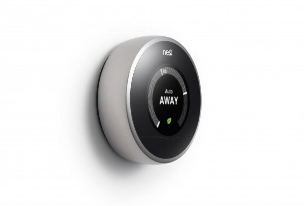 Thermostat Nest en mode absence