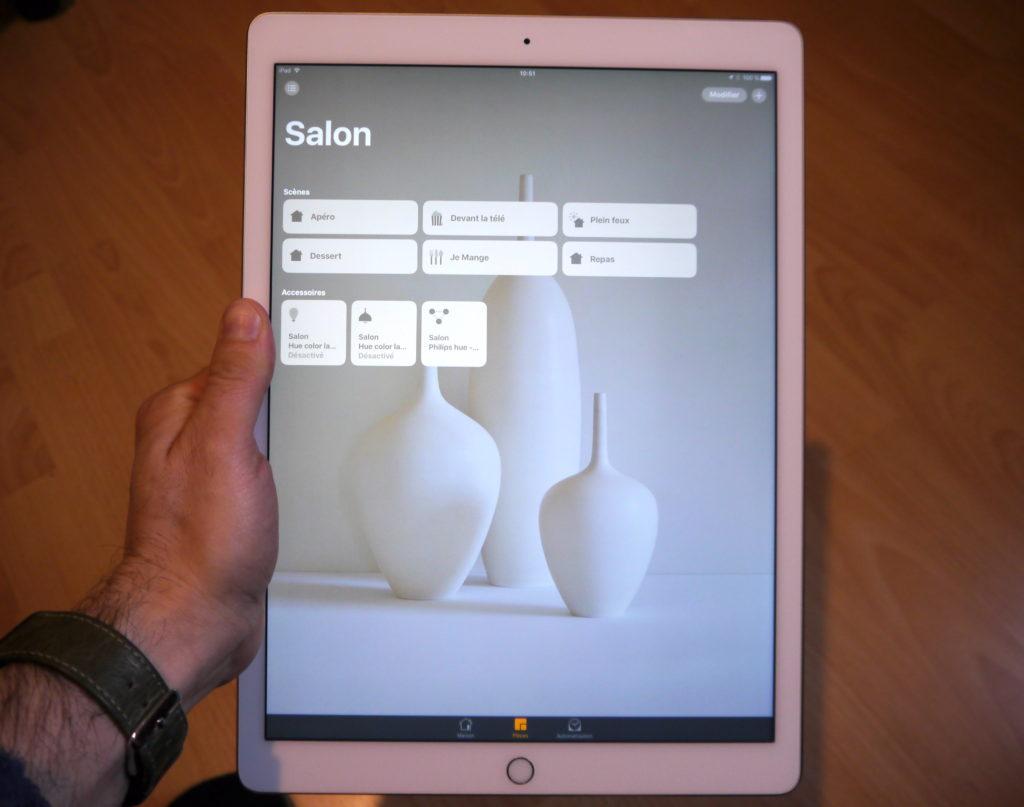 Gestion du pont Hue à l'aide d'un iPad et Siri