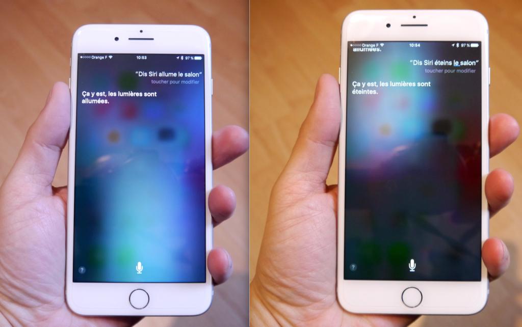 Siri pour commander le Philips Hue