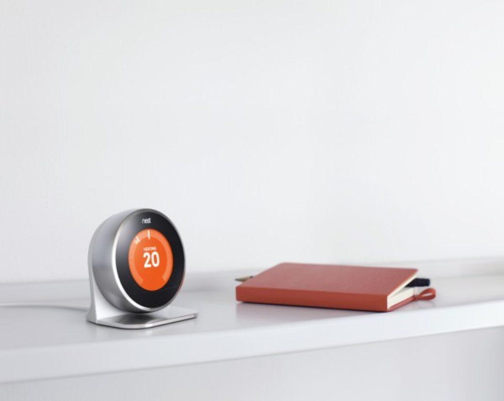 Support pour tenir le thermostat nest