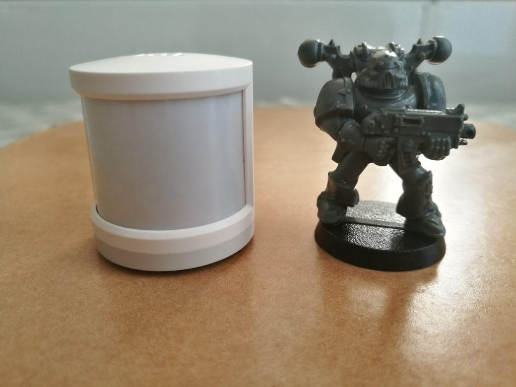 Le Smart Body Sensor est très petit.
