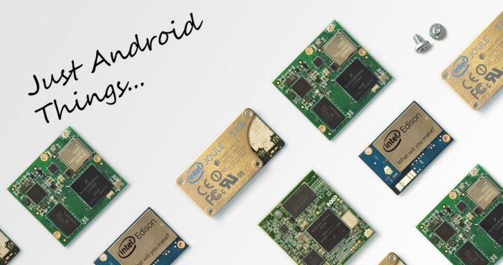 Android Things : le nouvel OS Google pour les objets connectés