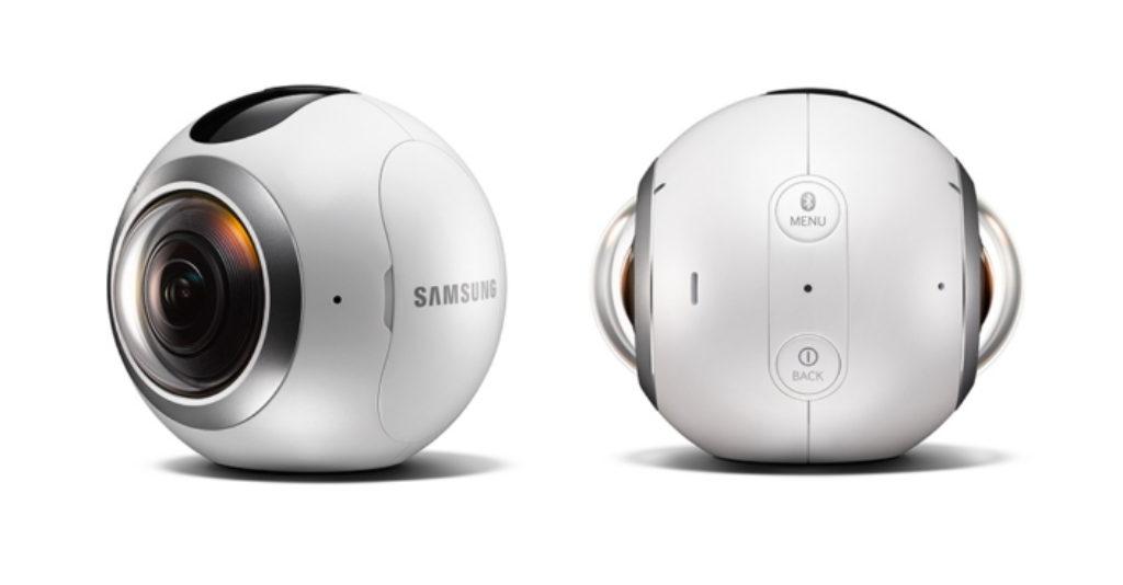 caméra 360 samsung Gear 360
