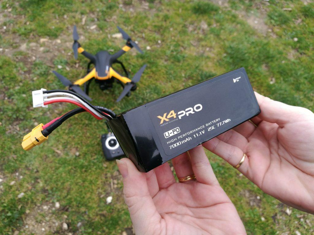 La batterie de 7000 mAh offre une bonne autonomie.