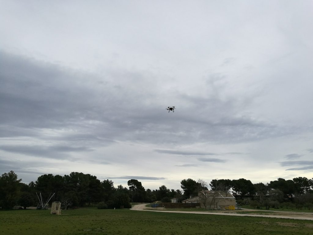 Le Hubsan H109S X4 Pro est très agréable à piloter.