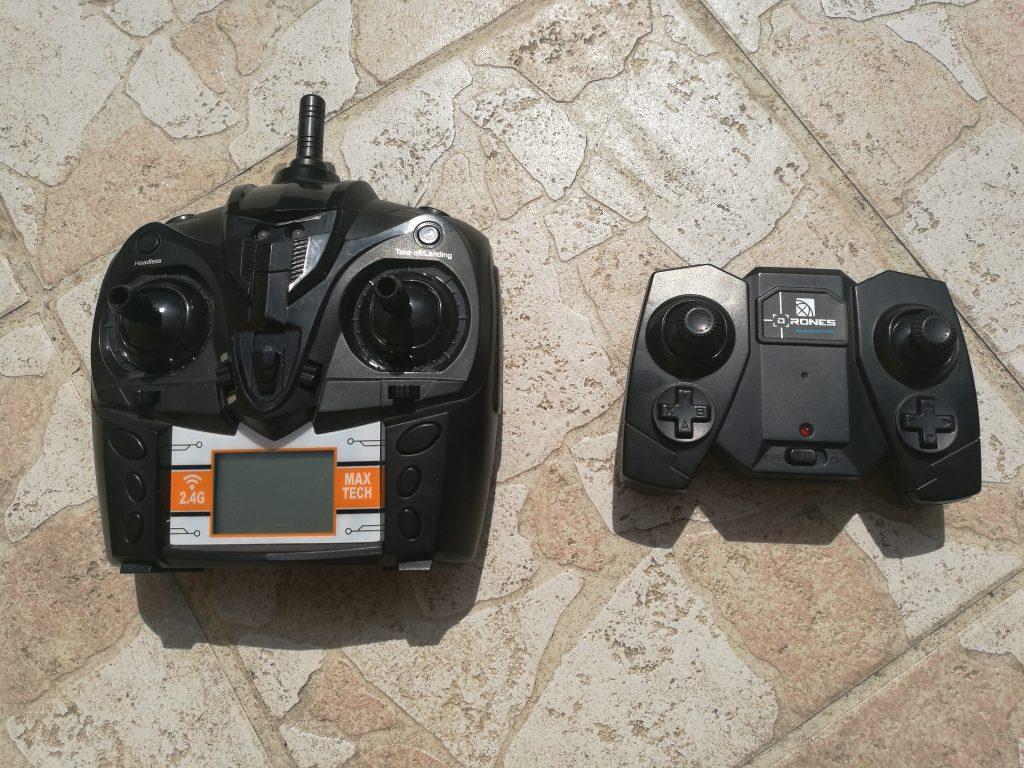Radicommandes drone
