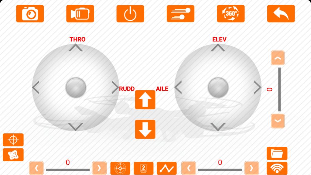 Application pour drone Skytech