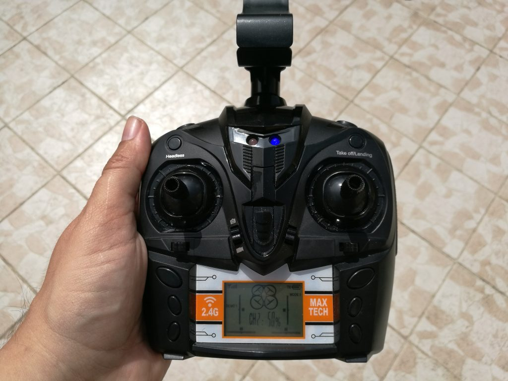Radiocommande drone Skytech
