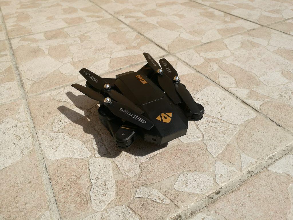 Bras pliables drone XS809W