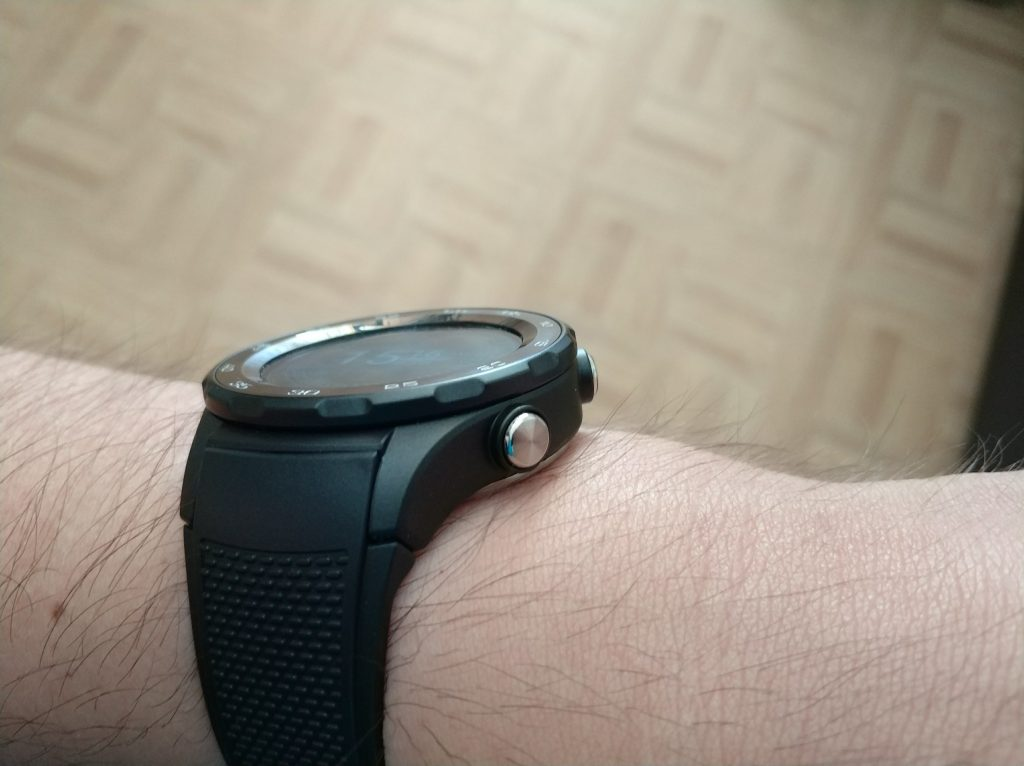 Boutons physiques Huawei Watch 2