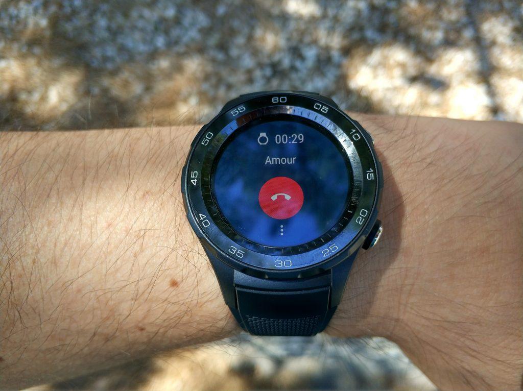 4G sur Huawei Watch 2