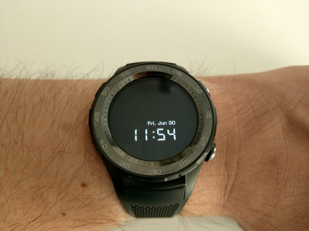 Ecran AMOLED smartwatch