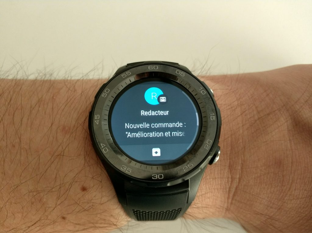 Notifications Android Wear 2