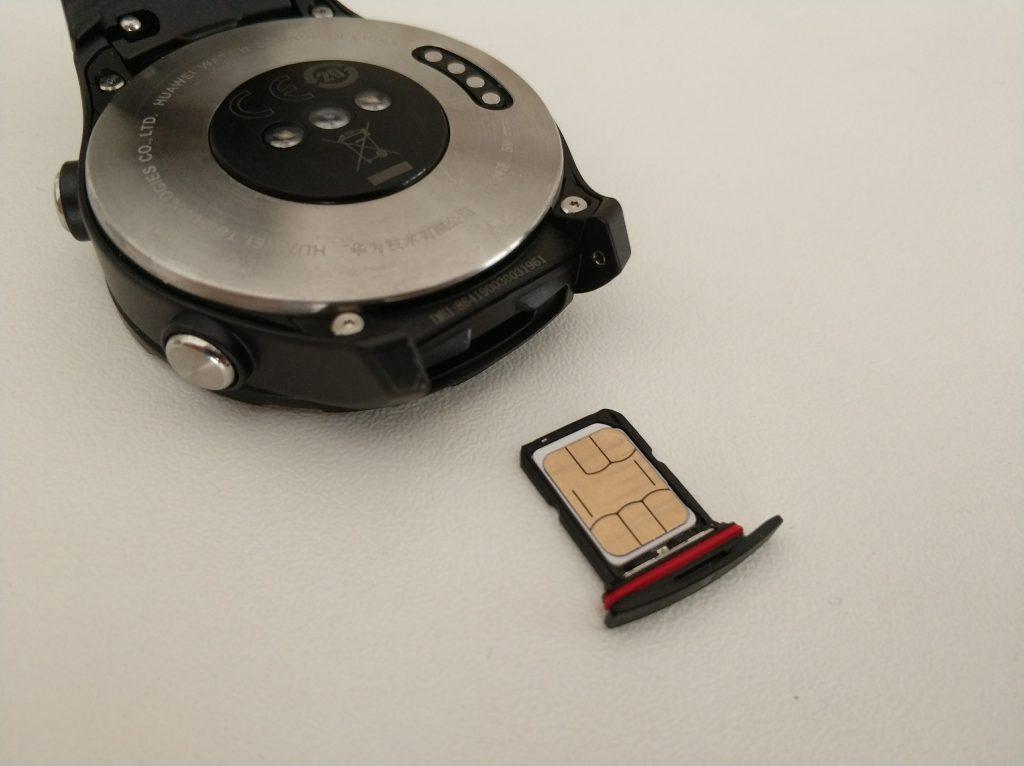 SIM sur montre connectée