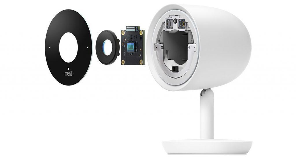 Capteur caméra Nest Cam IQ