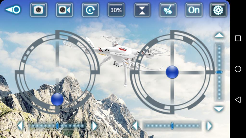 Application drone XSW UFO