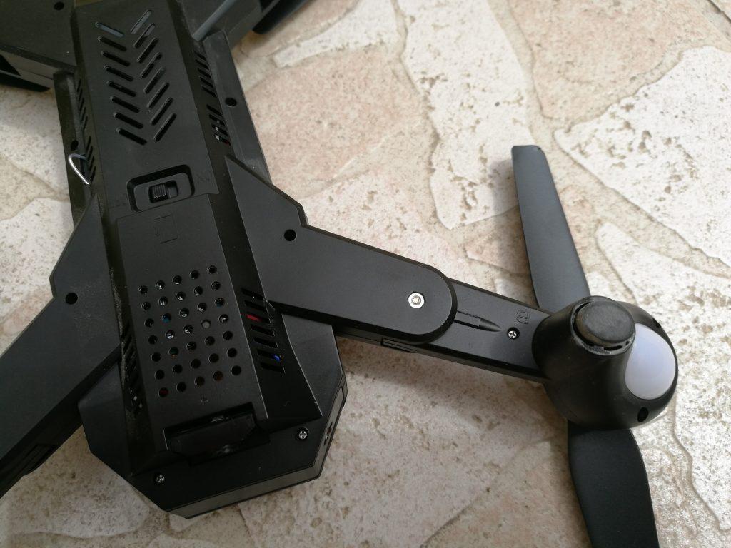 Bras pliable drone