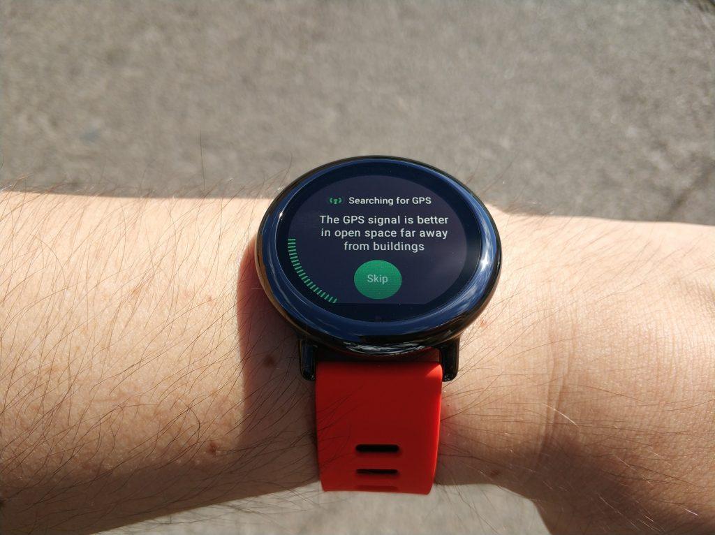 L'Amazfit Pace est équipée d'un GPS, une rareté à un prix si bas.