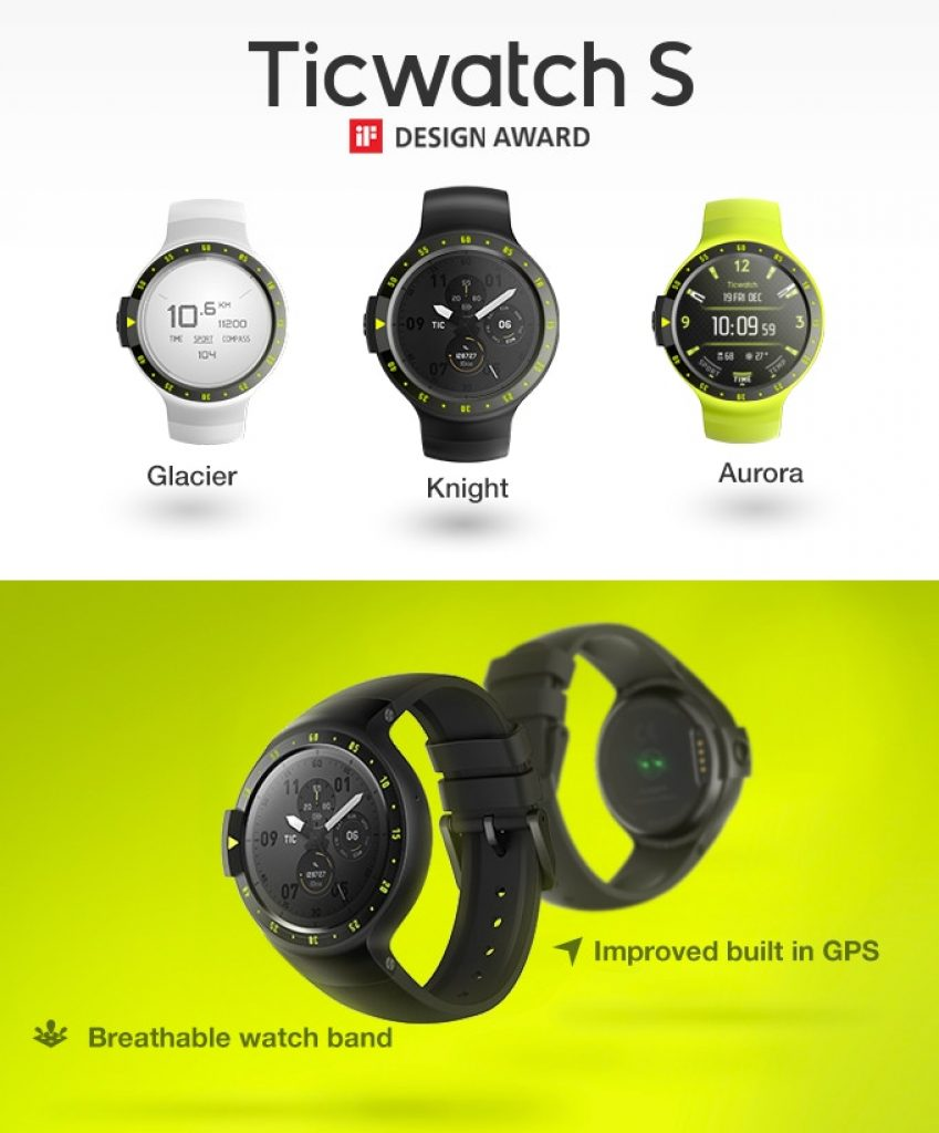 Ticwatch S&E Android Wear