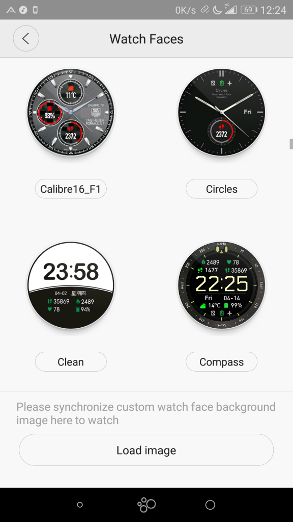 Nouveaux cadrans Xiaomi Amazfit Pace
