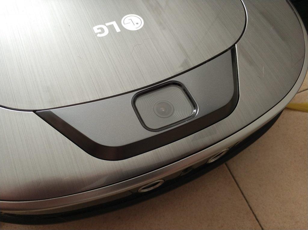 Caméra de repérage LG Hom-Bot aspirateur connecté
