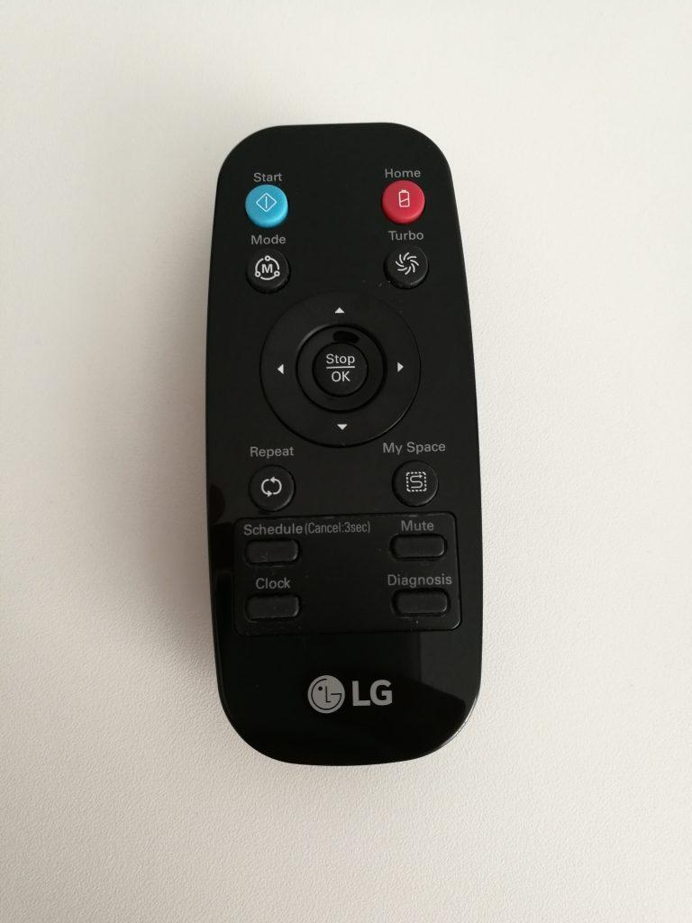 Télécommande aspirateur LG Hom-Bot