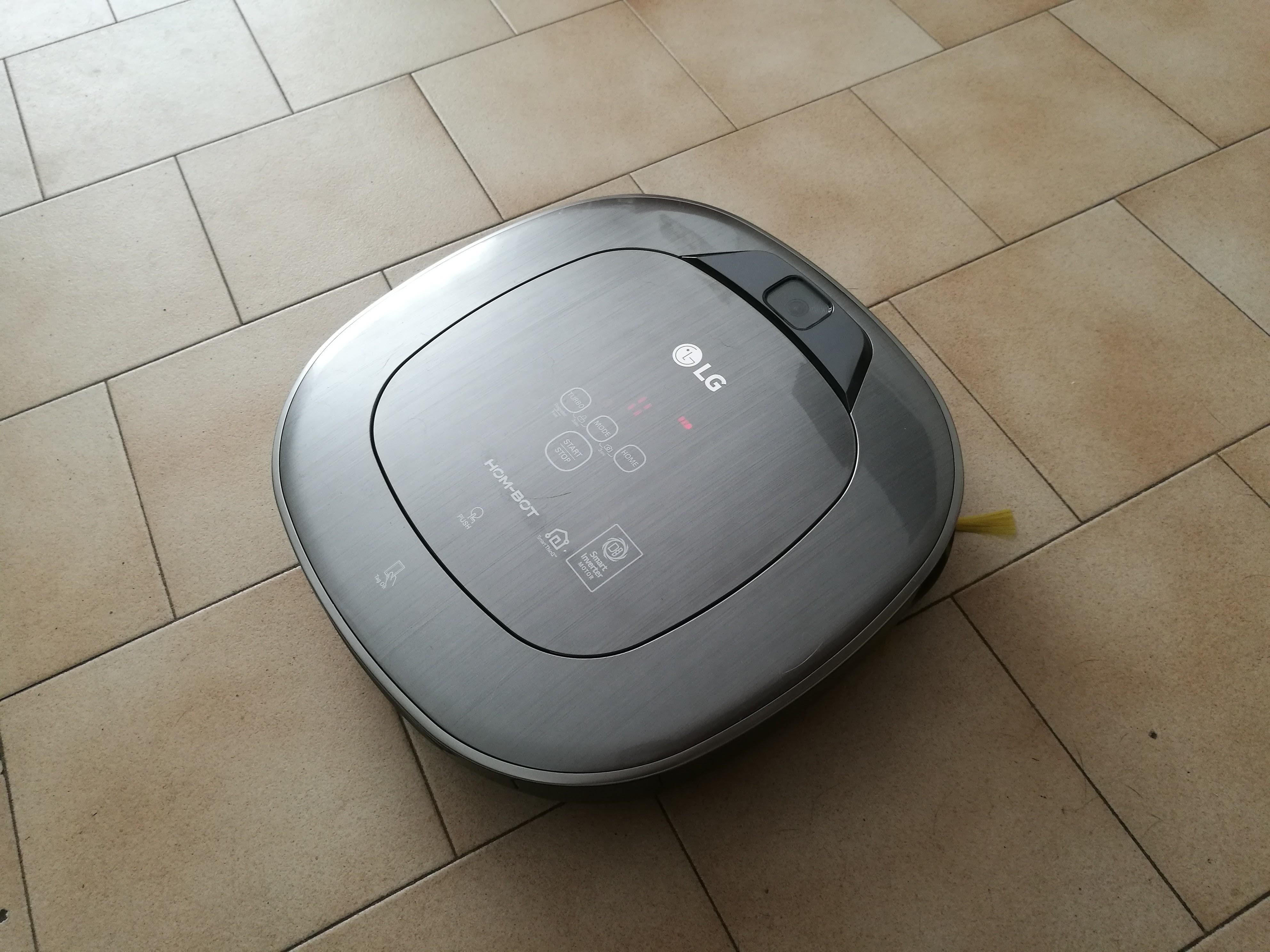 Aspirateur connecté LG Hom-Bot